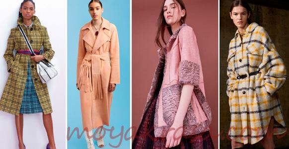 модные осенние женские пальто