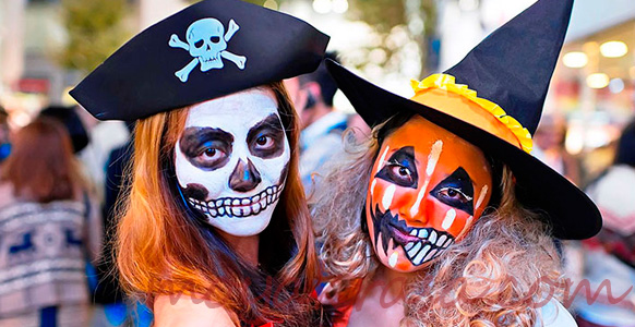 образы пиратов на Хэллоуин