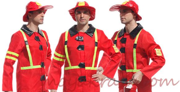костюм пожарного для Хэллоуина