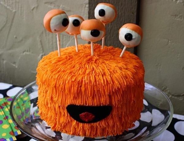 оригинальный торт на Хэллоуин