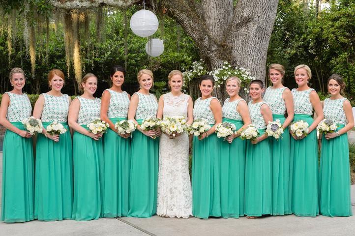 оригинальные наряды подруг невесты