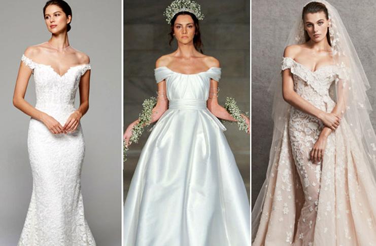 кружевные свадебные платья 2019