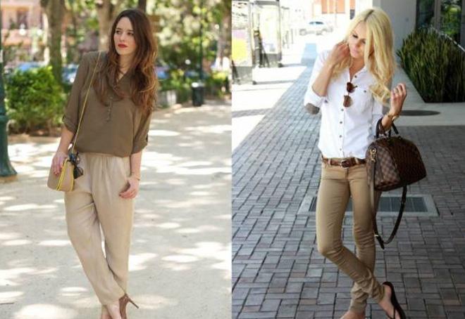девушки в блузках