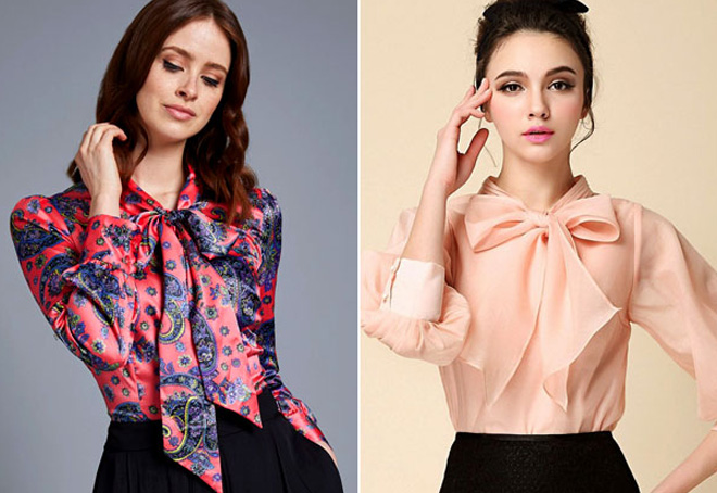 женские блузки в цветочек