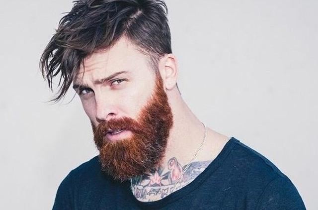 пышная борода