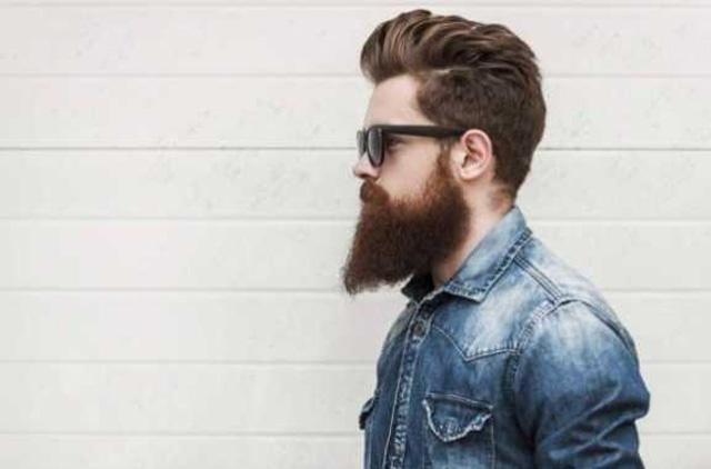 мужчина с густой бородой