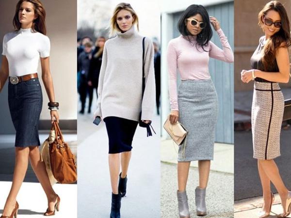 девушки в красивых юбках