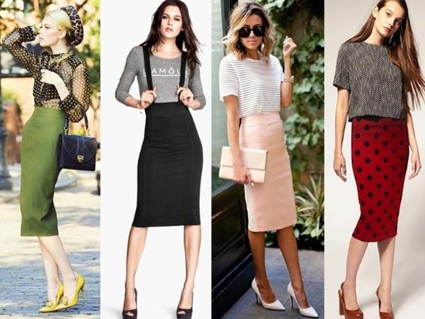 модные юбки-карандаш