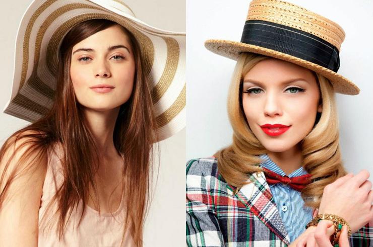 шляпы для лета