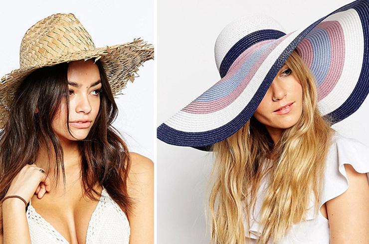 летние шляпы из соломы