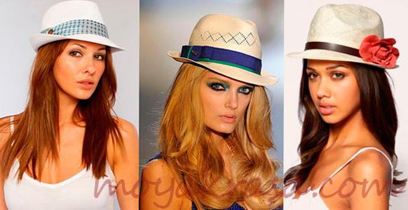 девушки в летних шляпах