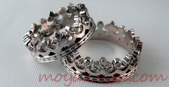 металлические обручальные кольца