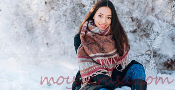 Как красиво завязать шарф на пальто (фото и видео)