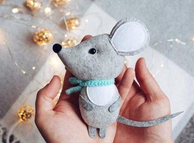 игрушка мыши их фетра