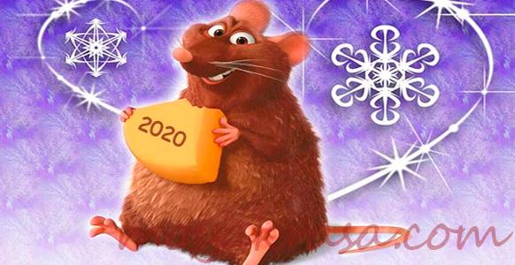 символ 2020 года с сыром