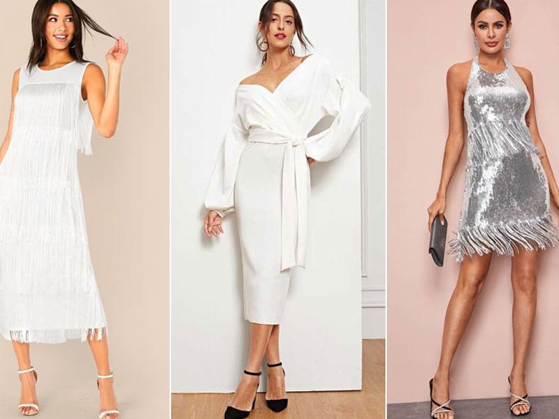 модели в вечерних платьях