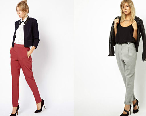 цветные брюки для женщин