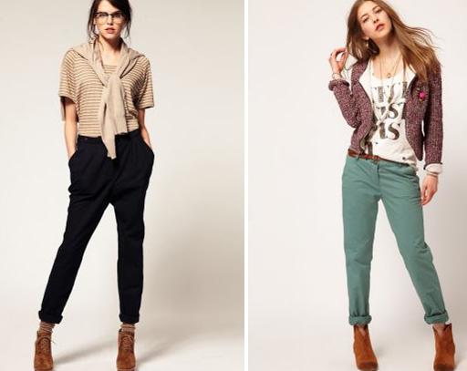 модные модели женских брюк