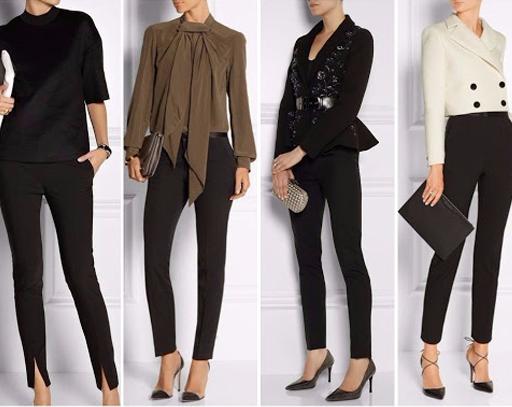 классический вариант женских брюк