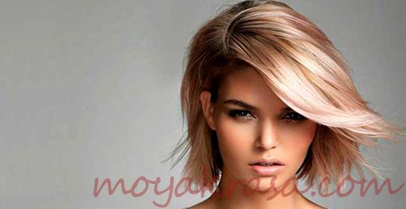модная стрижка на средние волосы 2020 года