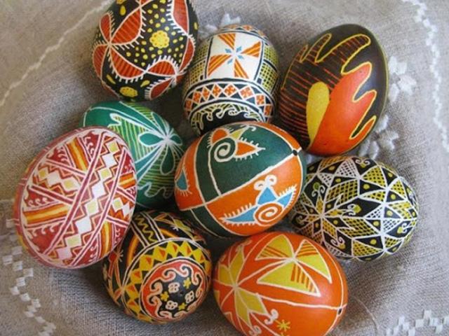 картинки на пасхальных яйцах