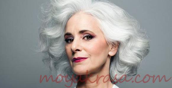 короткая стрижка женщины среднего возраста