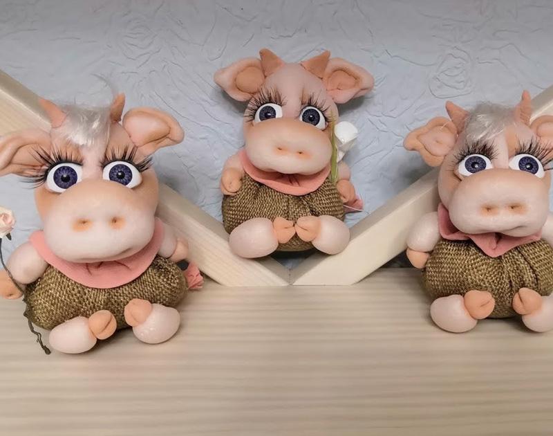 маленькие игрушки бычков