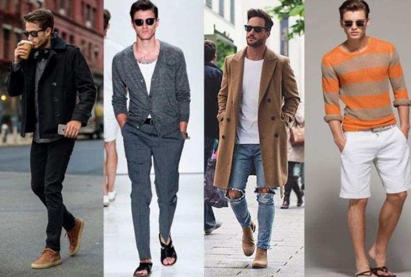 мужская мода в стиле кэжуал