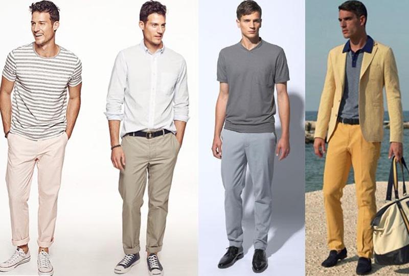 мужская одежда в стиле casual
