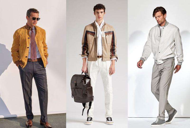 мужчины в стильной одежде
