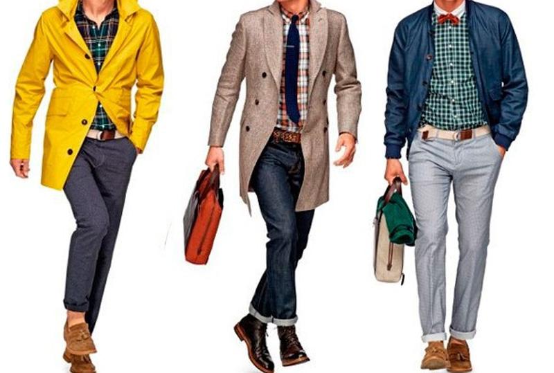 современный стиль мужской одежды