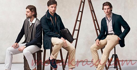 красиво одетые мужчины в стиле casual