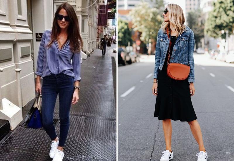 стильное комбинирование одежды