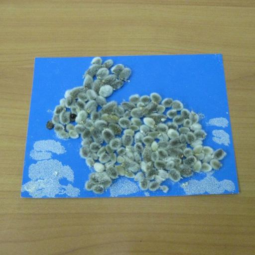открытка с котиками вербы