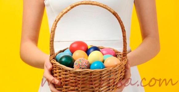 гадание для незамужних девушек на пасхальные яйца