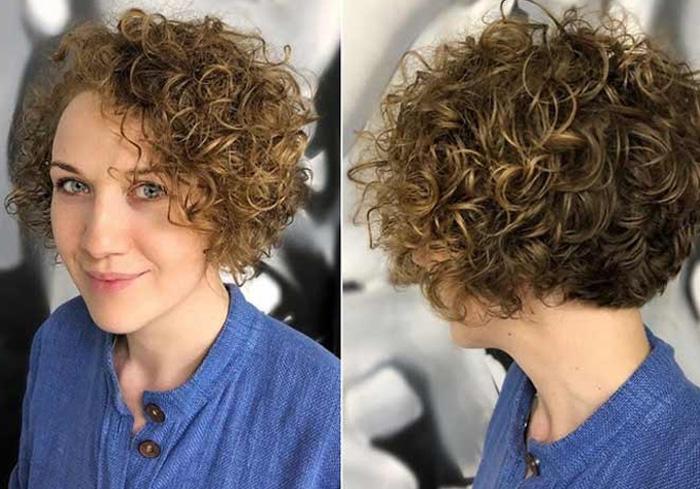 стрижка на короткие кудрявые волосы