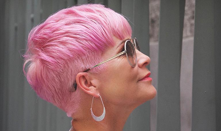 пикси розового цвета